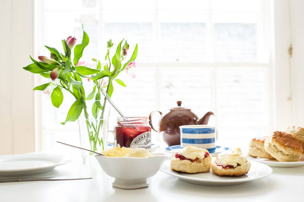 Trevince cream tea